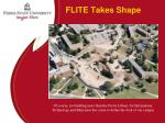 flite takes shape