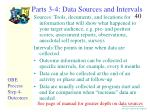 parts 3 4 data sources and intervals
