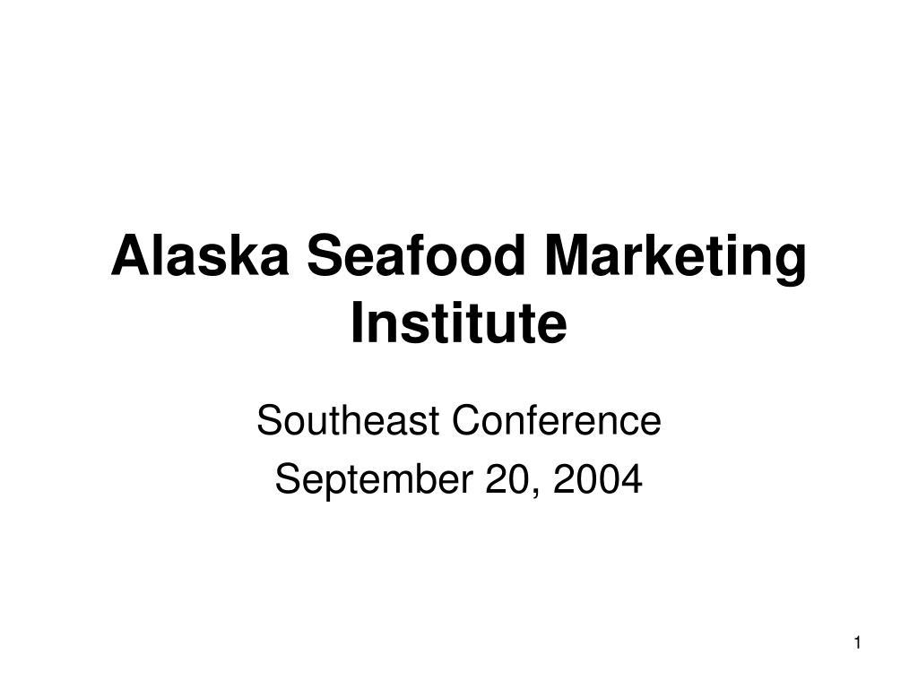 alaska seafood marketing institute l.