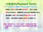 payment term20