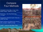 compare four methods