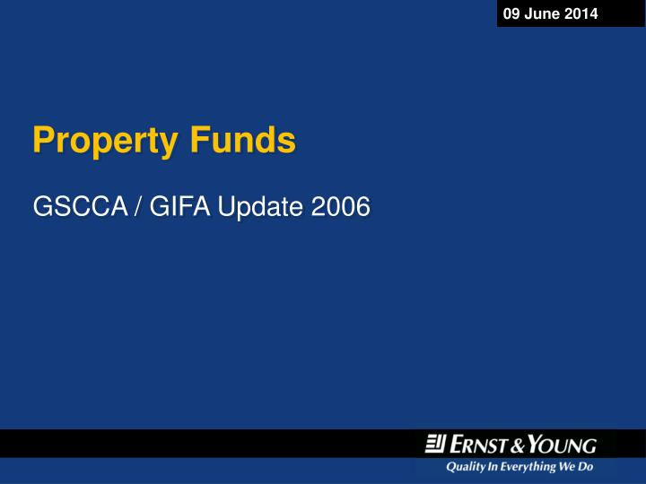 property funds n.