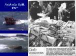 nakhodka spill 1997