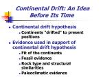 continental drift an idea before its time4