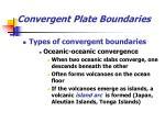 convergent plate boundaries24