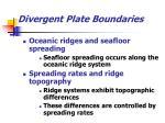 divergent plate boundaries16