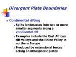 divergent plate boundaries18