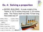 ex 4 solving a proportion