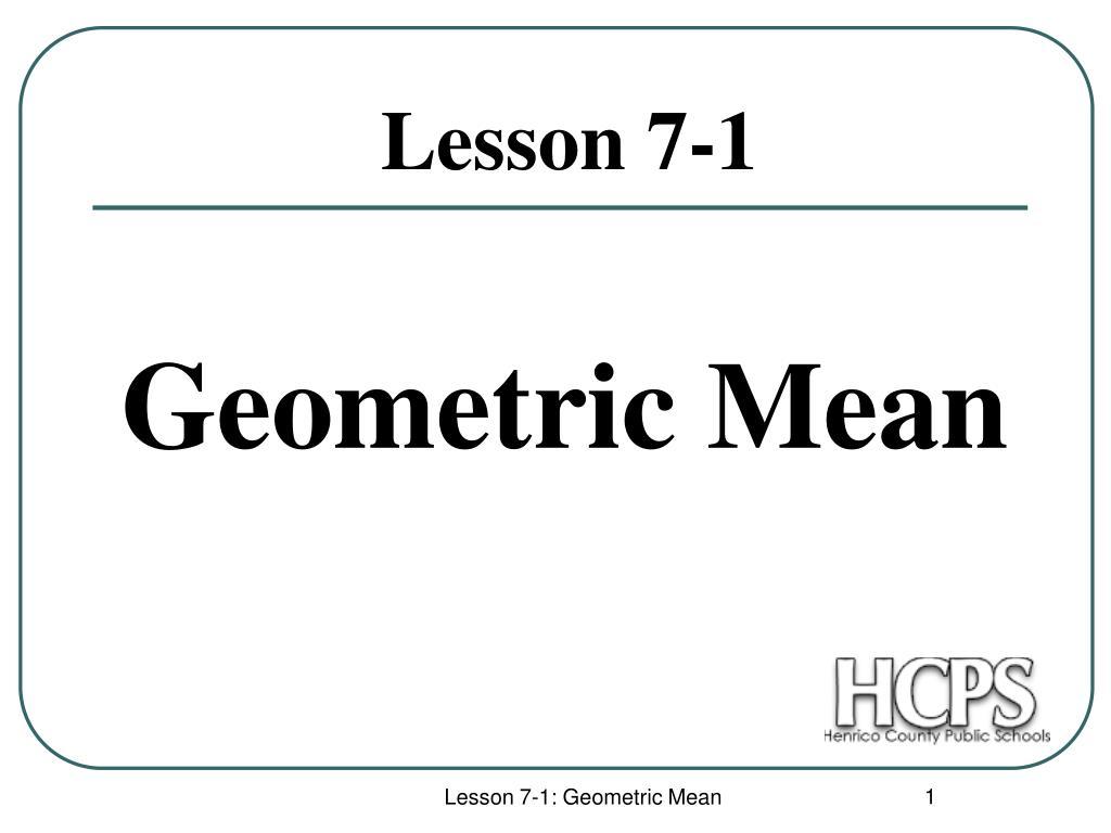 lesson 7 1 l.