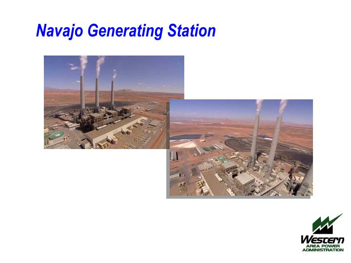 navajo generating station n.