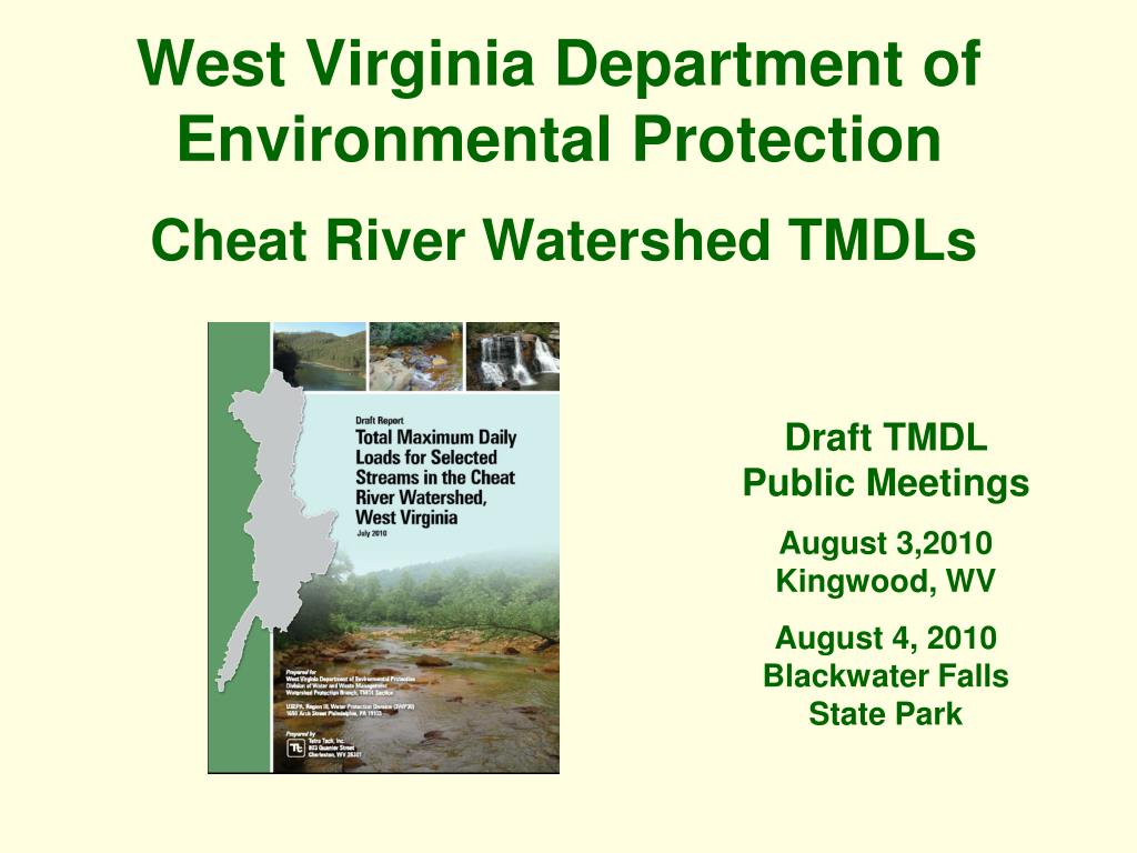 west virginia department of environmental protection l.
