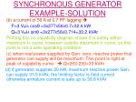 synchronous generator example solution1