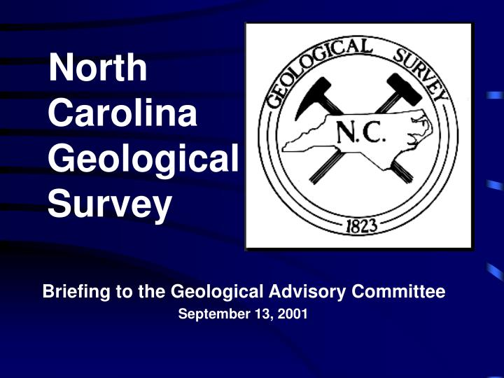 north carolina geological survey n.