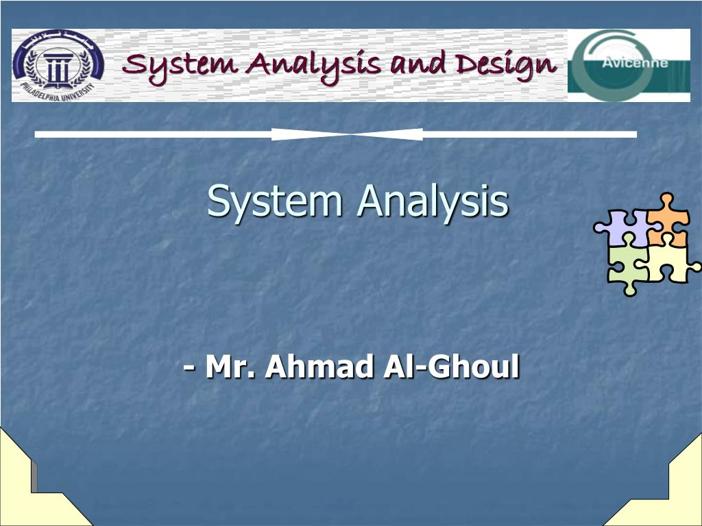 system analysis l.