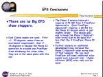 eps conclusions