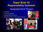 super bowl 43 responsibility outreach20