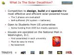 what is the solar decathlon