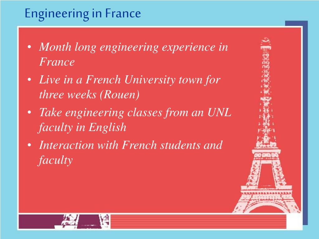 Engineering in France