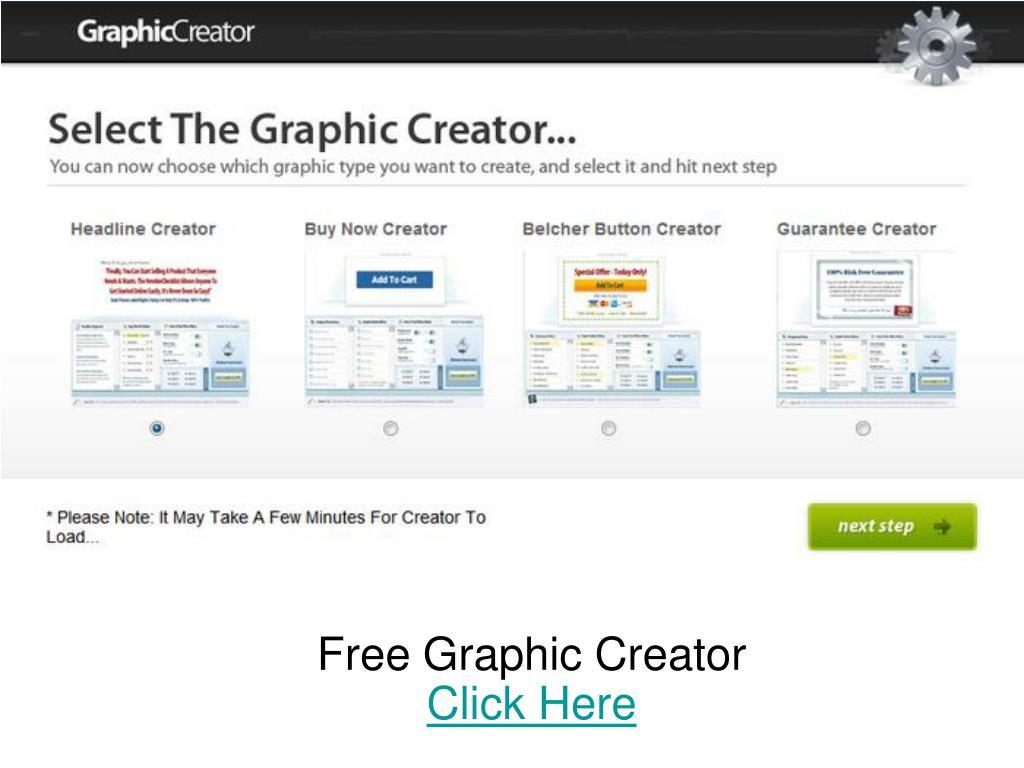 free graphic creator click here l.