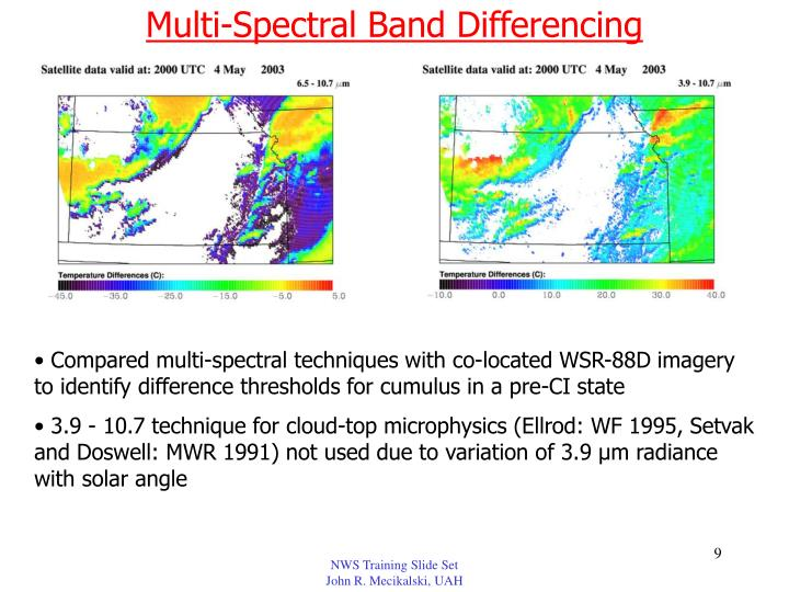 Multi-Spectral Band Differencing