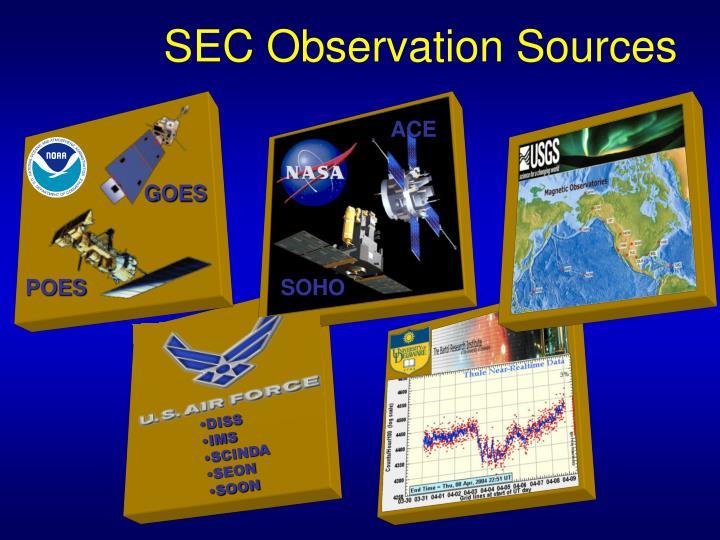 SEC Observation Sources