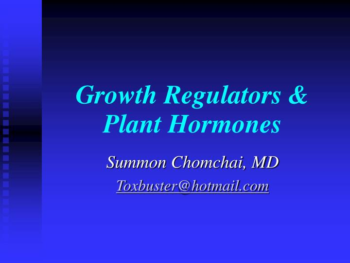 growth regulators plant hormones n.