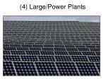 4 large power plants