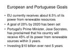 european and portuguese goals