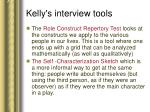 kelly s interview tools