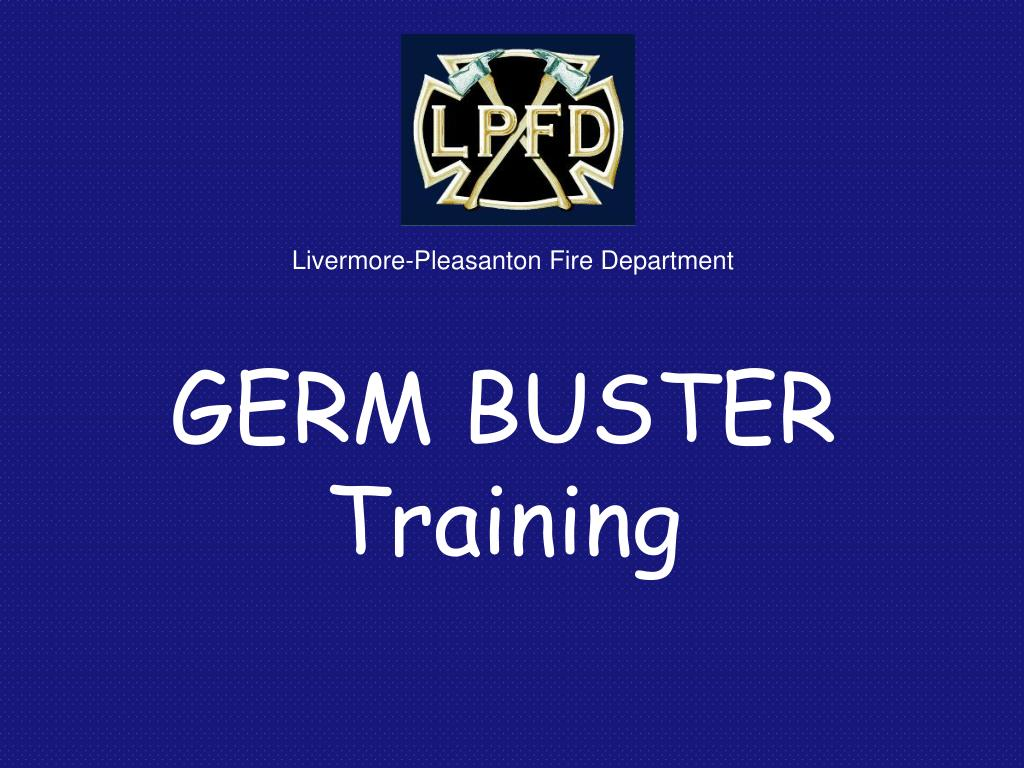 germ buster training l.