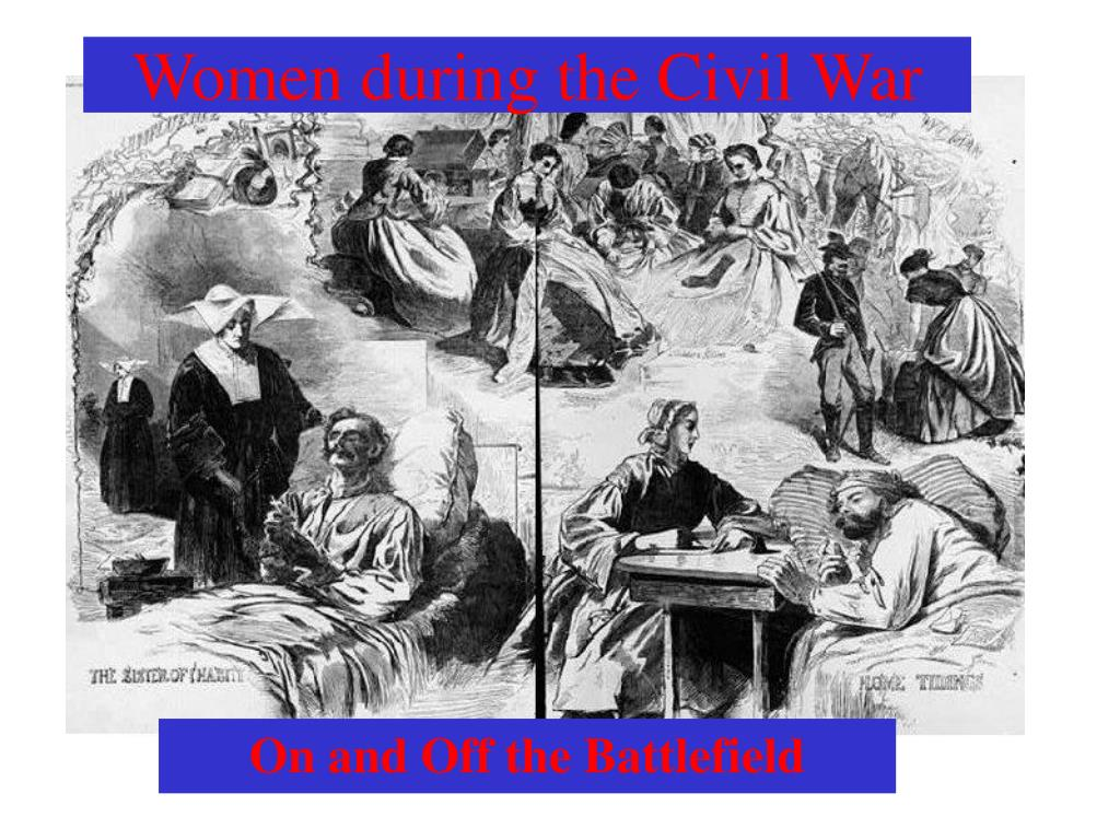 women during the civil war l.