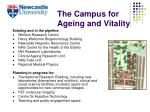the campus for ageing and vitality