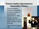 pasteur battles spontaneous generation theory