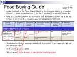 food buying guide page 1 15