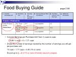 food buying guide page 2 84
