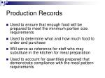production records3