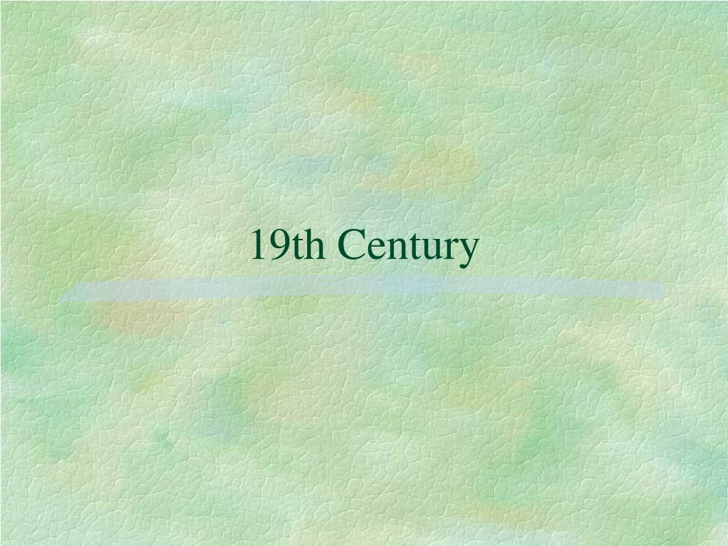 19th century l.