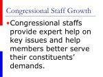 congressional staff growth61