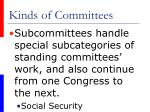 kinds of committees50