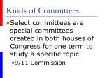 kinds of committees51