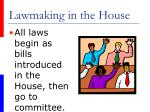lawmaking in the house26