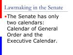 lawmaking in the senate41