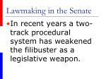 lawmaking in the senate43