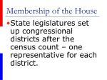 membership of the house5