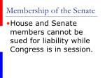 membership of the senate10