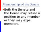 membership of the senate11