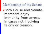membership of the senate9