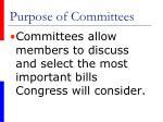 purpose of committees48