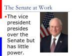 the senate at work35
