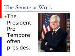 the senate at work36